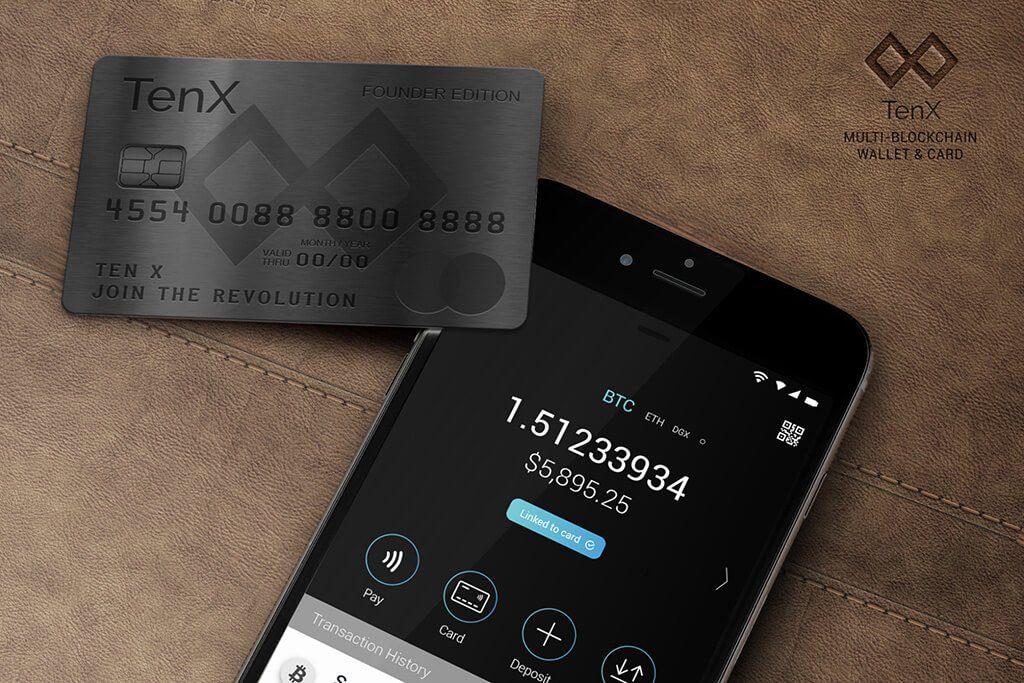 Bitcoin karty - přehled firem a poplatků tenx karta