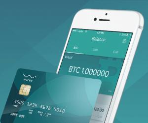 Bitcoin karty - přehled firem a poplatků wirex karta