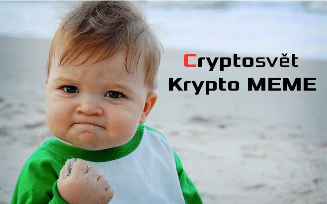 Kryptomeny: 10 vtipných meme o kryptomenách a Bitcoine