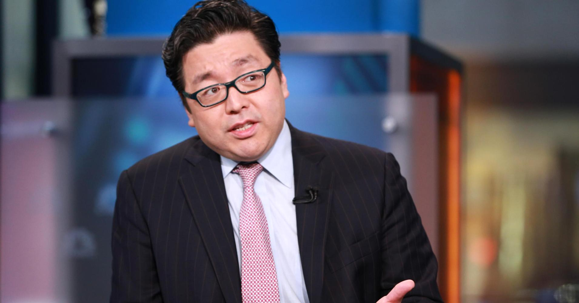 Wall Street Bitcoin Tom Lee bull