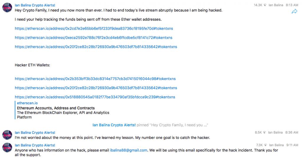 Balina hack telegram