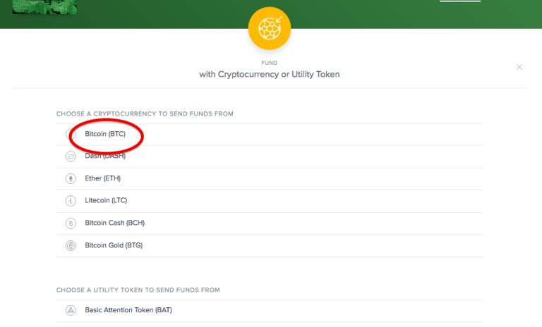 Uphold bitcoin na dolary