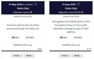 Mainnet TRX a EOS už čoskoro! Ako sa pripraviť?