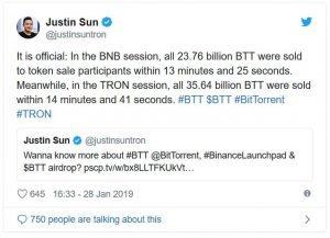 Kryptomeny: BitTorrent (BTT) a jeho raketový rast