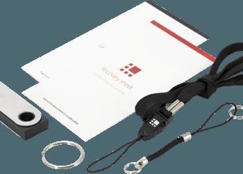 Obsah balení Ledger Nano S, recenze ledger nano s
