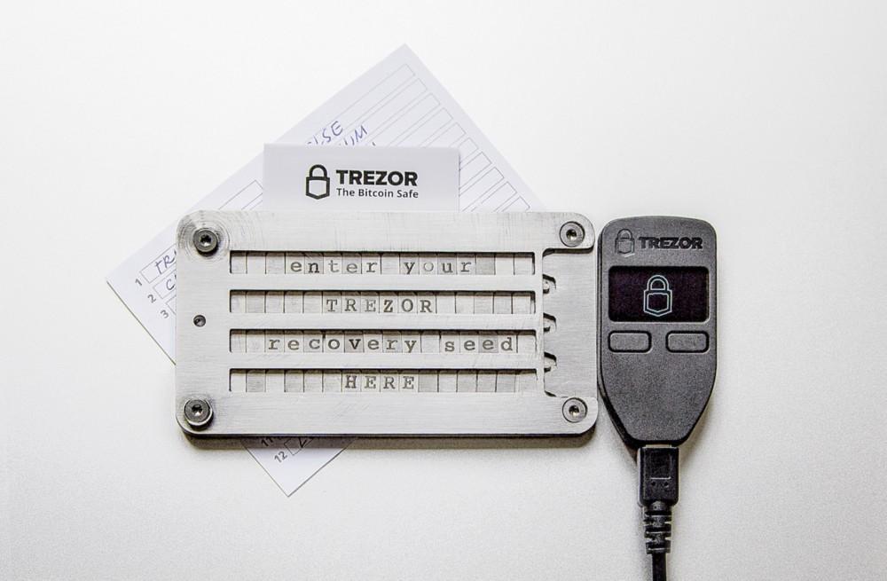 TrezorCryptoSteel, recovery seed