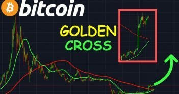 golden cross, cena btc