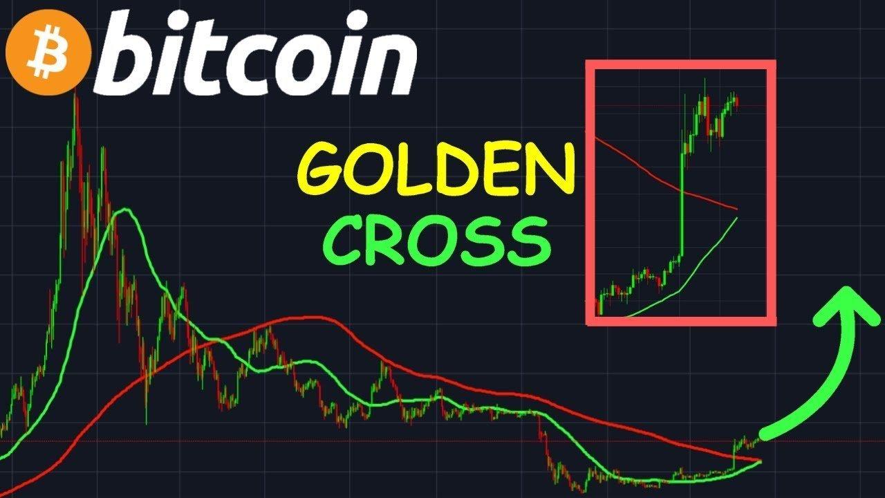 golden cross, cena btc