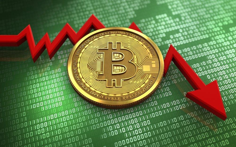 Bitcoin rast na hranicu 9000 USD bol nasledovaný náhlym prepadom - prečo Bitcoin klesá?