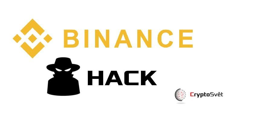 Binance hack: Hot Wallet Binance stratil 7000 BTC