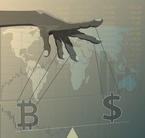 Bitcoin je na tom lépe než akciové indexy. Je však bezpečný v nejisté době?