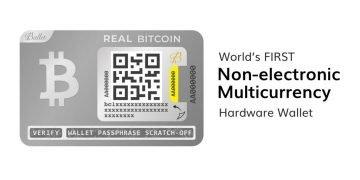 ballet peněženka, levná hardwarová peněženka podporující více kryptoměn