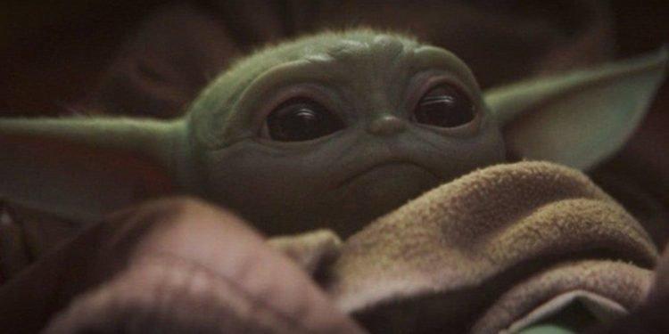 Baby Yoda -Mistr Yoda - the mandalorian