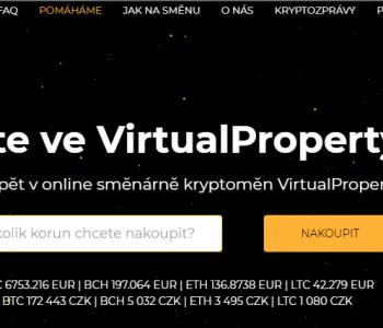 Směnárna Virtual Property – recenze, návod a tipy
